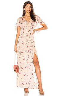 Макси платье flint - Cleobella