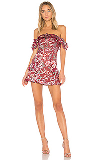 Мини-платье с открытыми плечами flora - For Love & Lemons