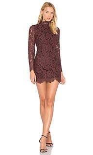 Кружевное платье jerome - Ganni