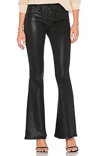 Джинсы со шнуровкой и высокой талией bullocks - Hudson Jeans