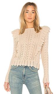 Пуловер ruffle - LoveShackFancy