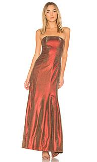 Вечернее платье без бретелек abra - Lovers + Friends