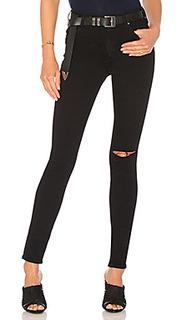 Облегающие джинсы с высокой посадкой newton - MCGUIRE