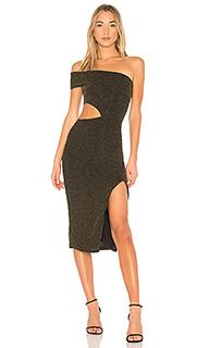 Платье со спущенными плечами arlo - NBD