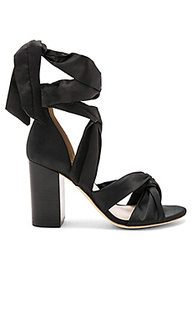 Туфли на каблуке с открытым носком myra - RAYE