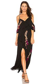 Платье с разрезами на плечах lorena - Tanya Taylor