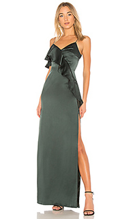 Шелковое вечернее платье sally - AMUR