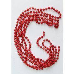 Новогодняя гирлянда Красный маскарад из полистирола, 76088 Magic Time