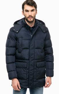 Удлиненная куртка со съемным капюшоном Geox