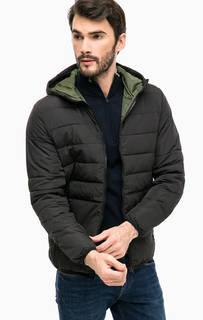 Черная куртка с капюшоном Jack & Jones