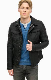 Стеганая куртка с отложным воротничком Tom Tailor