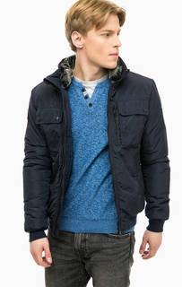 Куртка с карманами и съемным воротником Tom Tailor