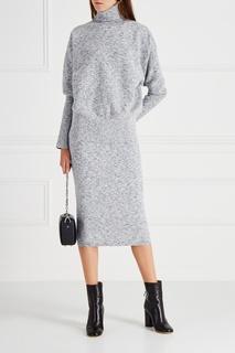 Меланжевый свитер Victoria Beckham