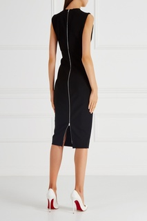 Однотонное платье-футляр Victoria Beckham