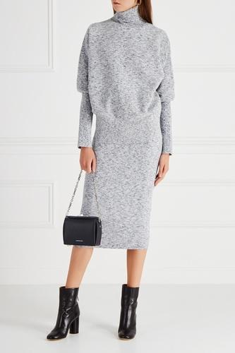 Меланжевая юбка