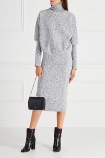 Меланжевая юбка Victoria Beckham