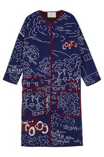 Пальто с рисунком-интарсия Tak.Ori