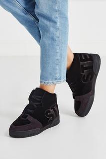 Бархатные кроссовки Stella Mc Cartney