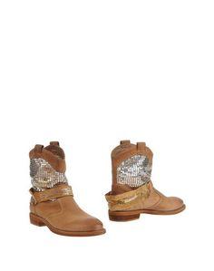 Полусапоги и высокие ботинки Fabbrica Morichetti