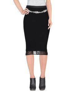 Юбка до колена MY Secret Black Dress