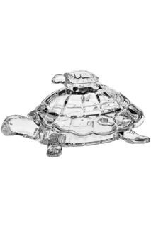 "Доза ""Черепаха"", 26,5 см CRYSTAL BOHEMIA"