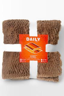 Плед шоколад, 127х152 Daily by T