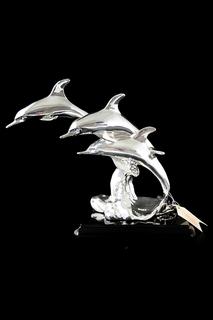 Статуэтка Дельфины 28 см Euro Far