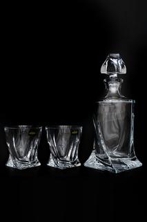 Набор для виски 3 пр. Crystalite Bohemia