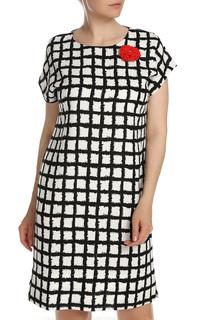 Нарядное платье с принтом ELISEEVA OLESYA