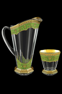 Набор: графин, стаканы, 6 шт ASTRA GOLD