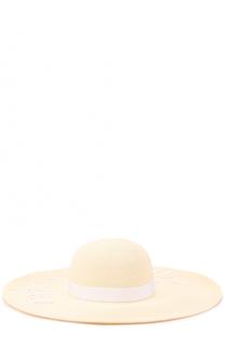 Шляпа Bunny с надписью из пайеток Eugenia Kim