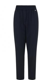 Укороченные брюки с карманами и эластичным поясом Escada Sport