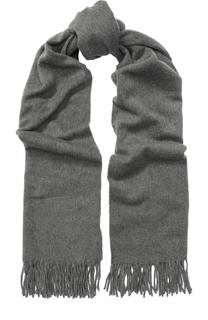 Кашемировый шарф с бахромой Acne Studios