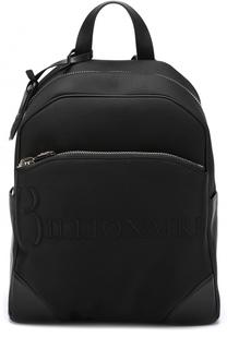 Комбинированный рюкзак с внешним карманом на молнии Billionaire
