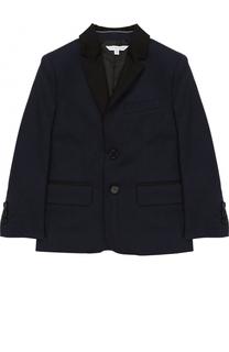 Хлопковый пиджак на двух пуговицах Marc Jacobs