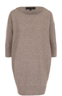 Удлиненный пуловер с круглым вырезом Tegin