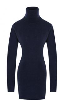 Удлиненный шерстяной свитер с высоким воротником Tegin