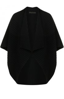 Шерстяной кардиган фактурной вязки Tegin