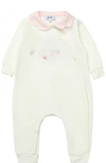 Хлопковая пижама с декоративной отделкой Aletta