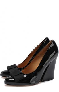 Лаковые туфли на фигурном каблуке Dries Van Noten