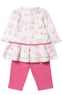 Хлопковое платье с брюками Kissy Kissy