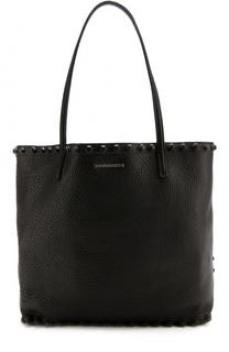 Кожаная сумка-шоппер Dsquared2