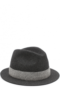 Фетровая шляпа с лентой Loro Piana