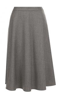 Шерстяная юбка-миди Polo Ralph Lauren