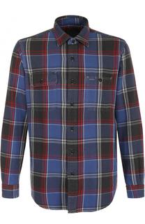 Хлопковая рубашка в клетку Polo Ralph Lauren