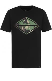 Хлопковая футболка с принтом Rag&Bone Rag&Bone