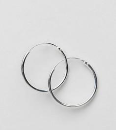 Серебряные серьги-кольца 20 мм ASOS - Серебряный