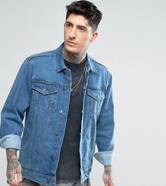 Джинсовая куртка в стиле oversize Reclaimed Vintage Inspired - Синий