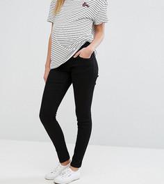 Черные джинсы скинни для беременных ASOS Maternity Ridley - Черный