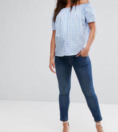 Зауженные джинсы для беременных с эластичным поясом ASOS Maternity Ridley - Синий